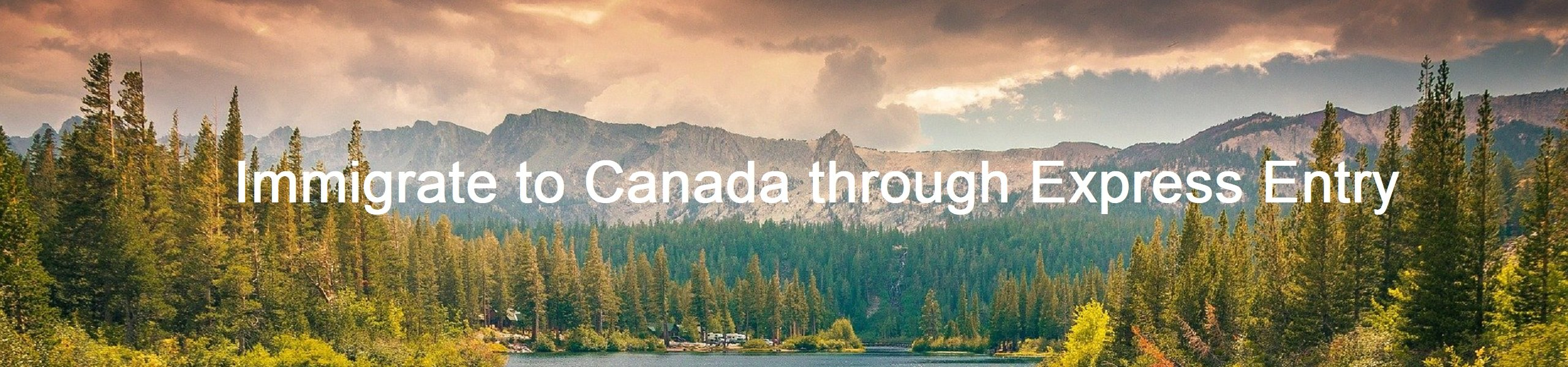 Immigrate to Canada Through Express Entry - Turningstone Immigration Consulting
